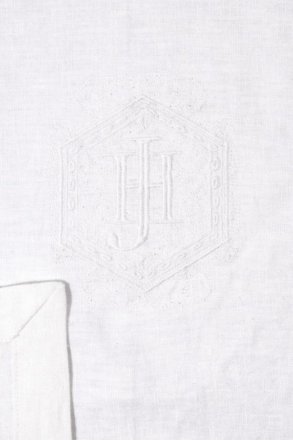JAN | Jan Hendrik van der Westhuizen | JAN Monogram Napkin Set of 4